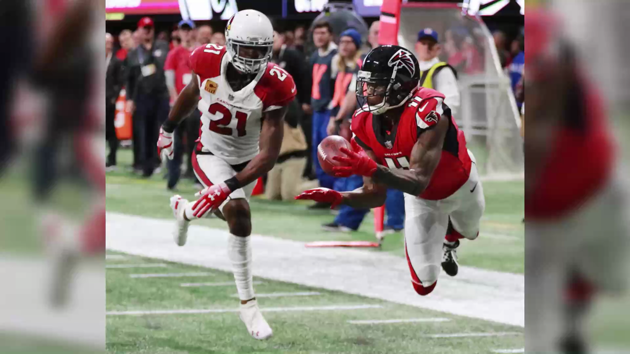 Watch: Julio Jones Lands at No. 9 On the NFL's Top 100 Players of 2019 List
