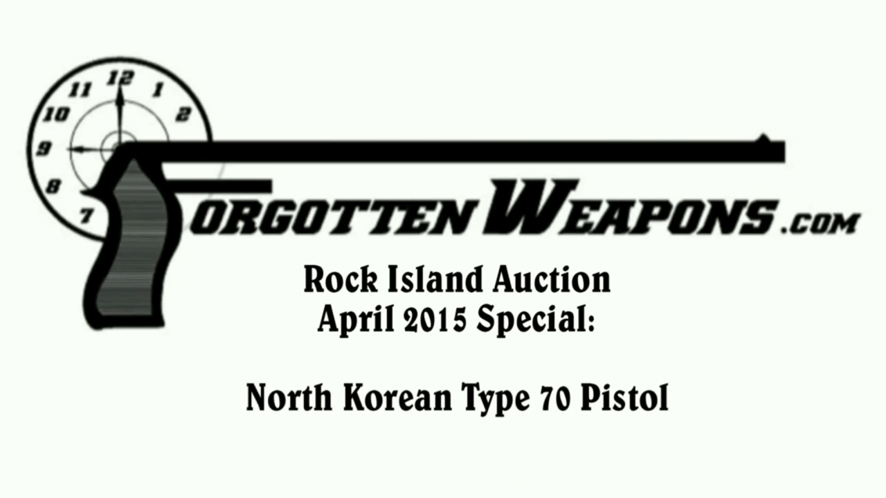 North Korean Type 70 Pistol at RIA - Forgotten Weapons
