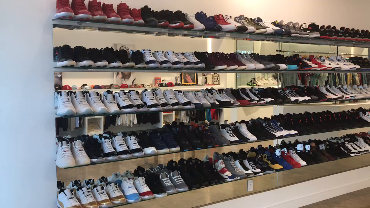 Inside The Laboratory Dallas Sneaker Consignment Shop